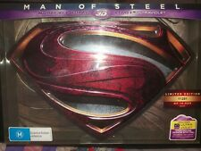 Man of Steel Collector's edition Blu Ray