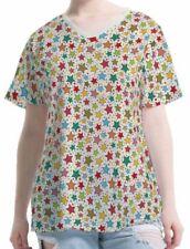 Stern Damen-T-Shirts mit V-Ausschnitt keine Mehrstückpackung