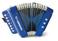 Hohner Kids Toy Accordion - Blue UC102B