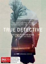 True Detective : Season 1-2 (DVD, 2016, 6-Disc Set)