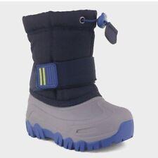 Cat & Jack Toddler Boys' Barrett Winter Boots - Navy 4