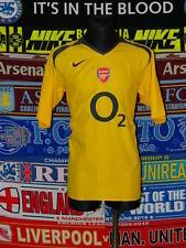 5/5 Arsenal adults XL 2005 #7 mint away football shirt jersey trikot soccer