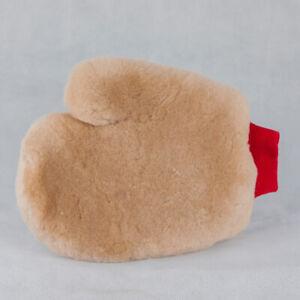 Flexipads World Class Merino Wool Super Soft Lambskin Car Wash Thumb Mitt