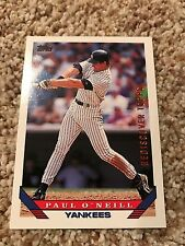 Paul O'Neill Yankees 2017 Topps Rediscover Buyback BRONZE 1993 Topps Traded #84