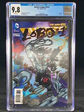 Justice League #23.2 CGC 9.8 2013 LOBO 3-D Cover SOLD OUT Batman Superman A216