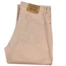 Levi's 551 Mens jeans Button Fly Classic Straight Cut denim Pants Size W33 L36