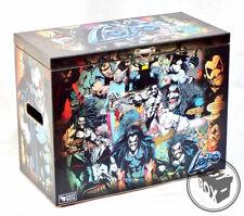 Large Comic Book Hard Storage Box Chest MDF Lobo