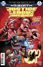Justice League of America #9 DC Comics 2017 DCU Rebirth