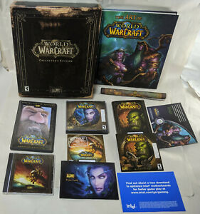World of Warcraft 2004 Vanilla Collector's Edition WoW NEAR MINT Complete CIB