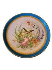 Antique Sevres Porcelain Hand Painted  Charger