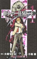 DEATH NOTE (1) Japanese original version / manga comics