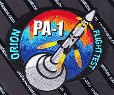 ORION FLIGHT TEST PA-1 ORIGINAL NASA USAF SPACE Launch PATCH