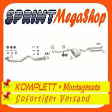 Auspuff Fiat Marea 1,9 TD STD 1996-2001 Stufenheck Kombi Auspuffanlage 0222