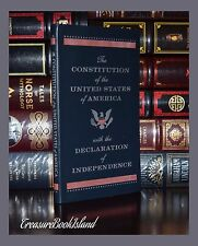 The Constitution & Declaration of Independence Pocket New Leather Collectible