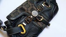 AUTHENTIC VERSACE Leather Medusa Bag Black