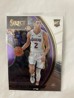 Lonzo Ball 2017-18 Panini Select SP Concourse RC , L.A. LAKERS , N.O. PELICANS