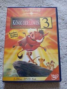 Walt Disney der König der Löwen 3 Hakuna Matata 2 DVD set