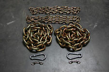 "Weight Lifting Chain Package 78.6 lbs 5/8"" 1/2"" 3/8"" Power Lifting Crossfit Gym"