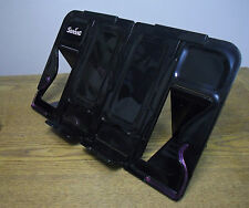 [Black] Easy to Use Anywhere Folding Bookstand for ReadingBook,iPod Pda Cookbook