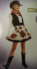 Western Cowgirl Cow Girl Costume Party/Halloween