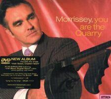 MORRISSEY YOU ARE THE QUARRY CD DIGIPACK + DVD SIGILL.
