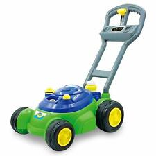 Bubble Lawn Mower Machine Toys Kids Outdoor Play Garden Soap,Bubbles Solution