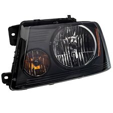 2004-2008 Ford F-150 Harley Davidson Blackout Smoked Headlight Lamp Driver OEM