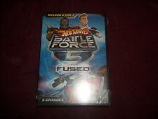 HOT WHEELS~BATTLE FORCE 5 FUSED~SEASON 2 VOL. 1~2009 NEW SEALED DVD~ANIMATED