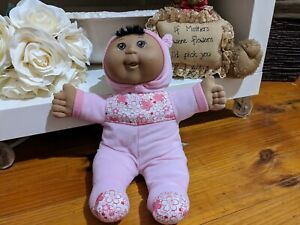 Cabbage Patch Kids Doll In Pink & Floral Play Suit 30cm Tall