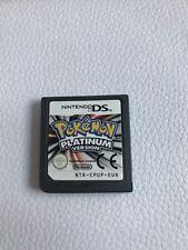Pokemon Platinum Versión NINTENDO DS Juego de cartucho sólo Genuino