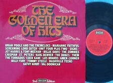 Golden Era of hits GER Compilation 2LP NM Nashville Teens Zombies Them Los Bravo