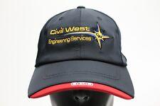 CIVIL WEST ENGINEERING SERVICES - OGIO - ADJUSTABLE STRAPBACK BALL CAP HAT
