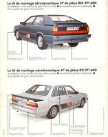 Audi 80 Coupe 81 85 B2 Votex Schweller Seitenschweller sideskirts 811071661