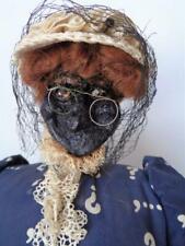 Jessie A. Webb Dried Apple Head Doll Primitive Country Folk Art Genteel Woman