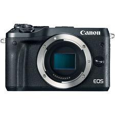 Canon EOS M6 Mirrorless Digital Camera - Body Only, Black