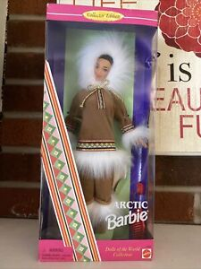 Arctic 1996 Barbie Doll- New In Box.