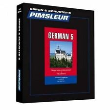 Pimsleur German Level 5 CD: Learn to Speak and Understand German with Pimsleur Language Programs by Pimsleur (CD-Audio, 2015)