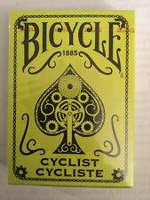 Bicycle - Cyclist - NEON Yellow - Rare Mint - Playing Cards Deck - Rare USPCC