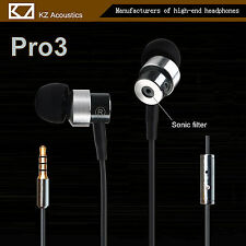 KZ Pro 3 Hi-Fi In-Ear Ohrhörer High End Super Bass Sound, Earphone Headphone