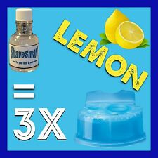 3 Lemon Braun Clean & Renew Cartridge Refills, Syncro, Activator, And Flex