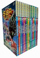 Sea Quest Series (1 to 4) By Adam Blade 16 Books Collection Pack Set NEW BRAND