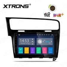 "AUTORADIO 10"" Android 8.1 VW Golf 7 GPS Navigatore Bluetooth Mp3 Comandi Volante"