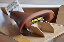 New Vintage Selle San Marco Concor Supercorsa brown leather saddle