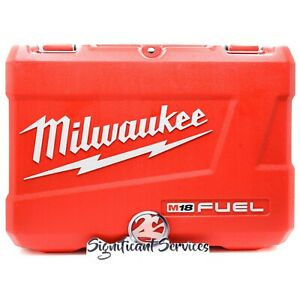 "New Milwaukee 18V Fuel M18 2715-20 1-1/8"" SDS Plus Rotary Hammer Hard Tool Case"