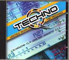 Compilation - United World Of Techno - CD - 1998 - Techno Versailles France
