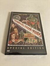 New listing Invaders From Mars 50th Anniversary Dvd 1953 Sci-Fi Movie (New/Sealed/Rare)