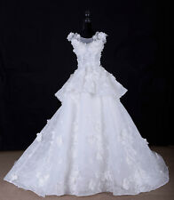 Wedding Dress With Free Veil and Bridal Gloves.