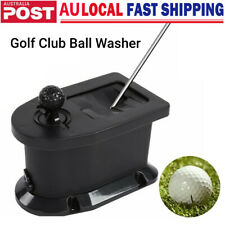 Golf Club Cart Ball Washer Cleaner Tool Pre-drilled Mount Bracket Washing Kit