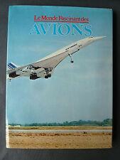 Ancien livre Le monde fascinant des avions par Gründ french antique book