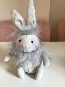 Jellycat Silver Flumpet Bunny BNWT